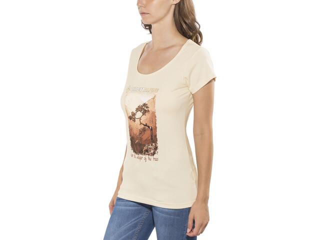 Directalpine Organic 1.0 Camiseta Mujer, natural